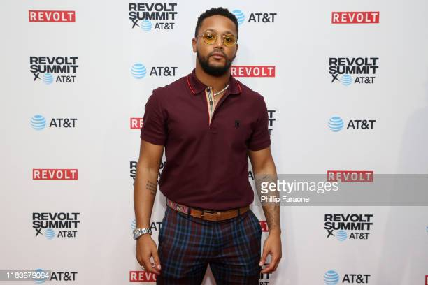 Romeo Miller attends the REVOLT X AT&T 3-Day Summit In Los Angeles - Day 2 at Magic Box on October 26, 2019 in Los Angeles, California.