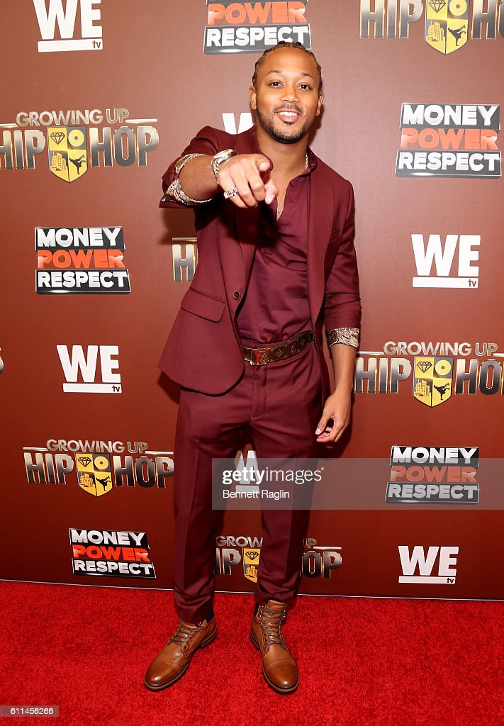 Romeo Miller attends WE tv's Growing Up Hip Hop Season 2 Premiere Screening And After Party on September 29, 2016 in New York City.