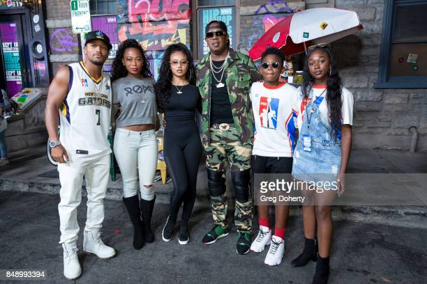 Romeo Miller Family Member Cymphonique Miller Master P and Family Members arrives for VH1's Hip Hop Honors The 90's Game Changers at Paramount...