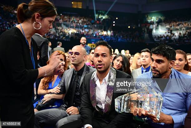 Romeo Santos attend the 2015 Billboard Latin Music Awards presented by State Farm on Telemundo at Bank United Center on April 30 2015 in Miami Florida