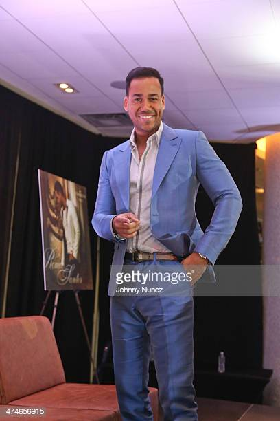Romeo Santos attends Romeo Santos' 'Formula Vol 2' Album Release Press Conference at Yankee Stadium on February 24 2014 in New York City