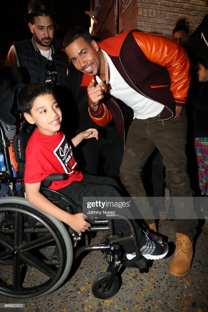 Romeo Santos & Daddy Yankee Video Shoot