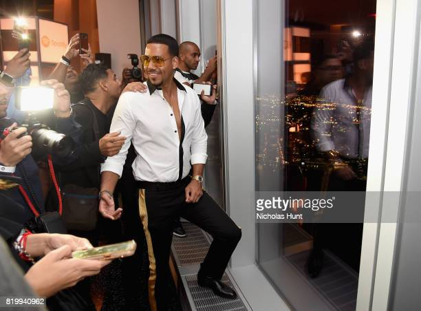 Romeo Santos Celebrates 'GOLDEN' and his Birthday at One World Trade Center on July 20 2017 in New York City
