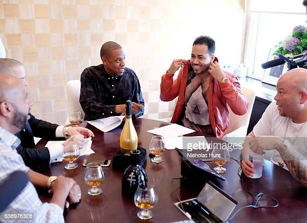 Romeo Santos Joins Roc Nation Management and Named CEO of Roc Nation Latin on June 8 2016 in New York City