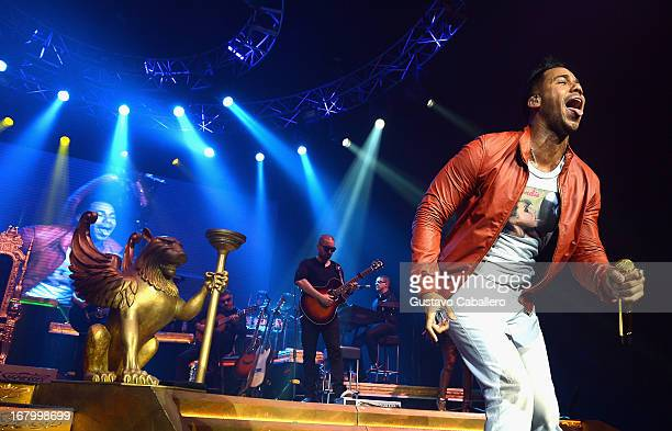 Romeo Santos performs at Hard Rock Live! in the Seminole Hard Rock Hotel & Casino on May 3, 2013 in Hollywood, Florida.