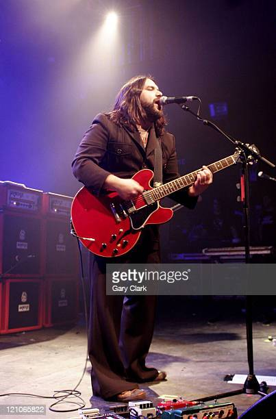 Romeo Stodart of The Magic Numbers during The Magic Numbers in Concert at the Forum - February 9, 2007 at Forum in London, Great Britain.