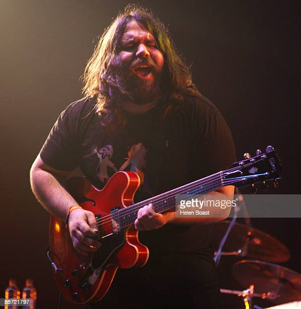 Romeo Stodart of The Magic Numbers performs on stage for day 2 of Hard Rock Calling at Hyde Park on June 27 2009 in London England