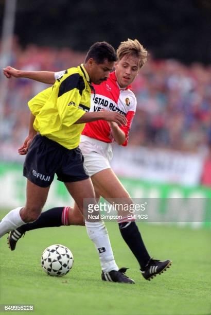 Romeo Zondervan NAC Breda and Rob Witschge Feyenoord