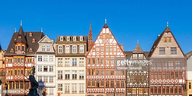 Romerberg Square buildings in Frankfurt, Germany