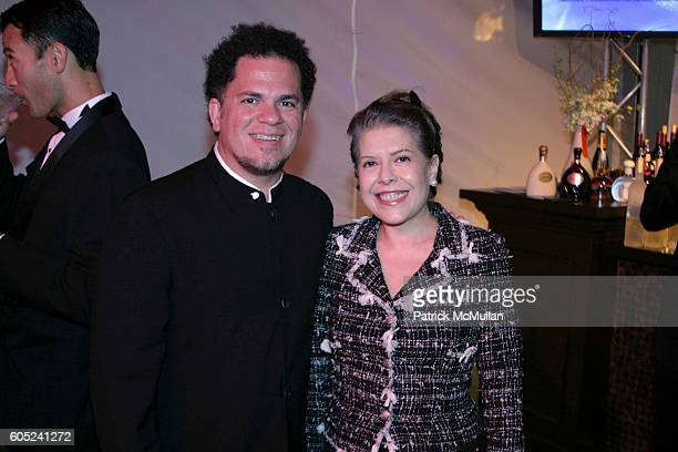 Romero Britto and Columba Bush attend National Foundation for Advancement in the Arts 25th Anniversary Performance and Gala at Bayfront Park on...