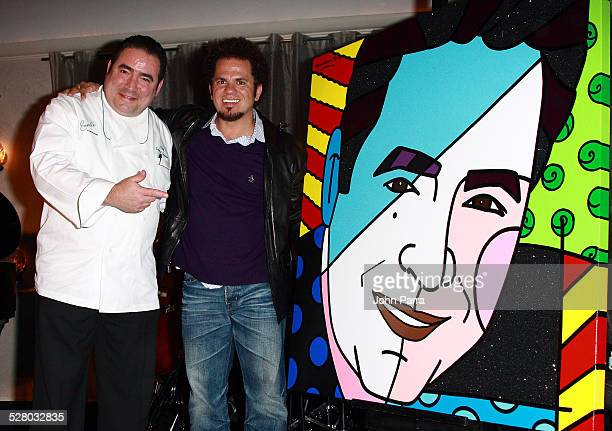 Romero Britto and Emeril Lagasse celebrates The 5th Anniversary Of Emeril's On South Beach to benefit the Miami Children's Hospital Foundation at...