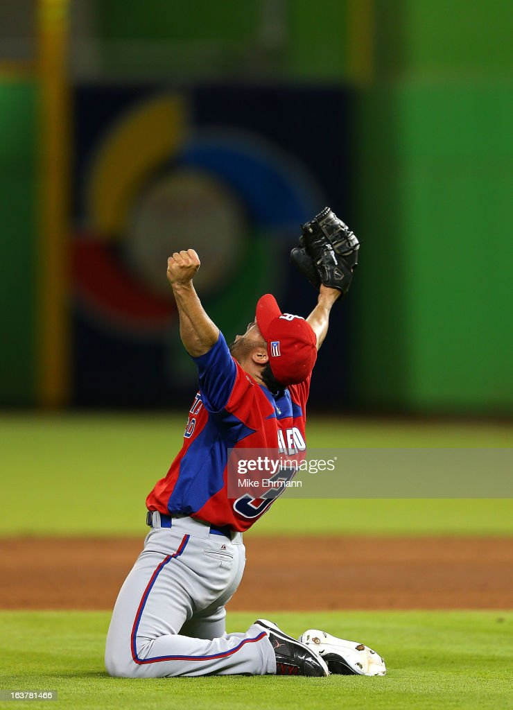 World Baseball Classic - Second Round - Miami - USA v Puerto Rico