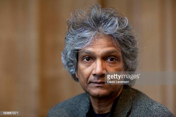 Romesh Gunesekera writer attends the Sunday Times Oxford Literary Festival at Christ Church Oxford on March 17 2013 in Oxford England