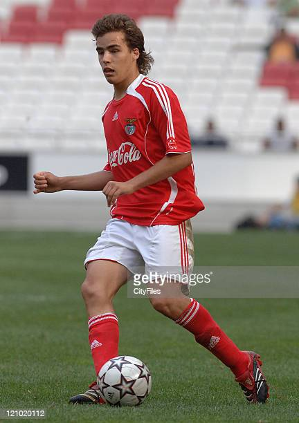 Romeu Ribeiro during the Portuguese Under18 Championship match between SL Benfica and Sporting Lisbon on June 7 2007