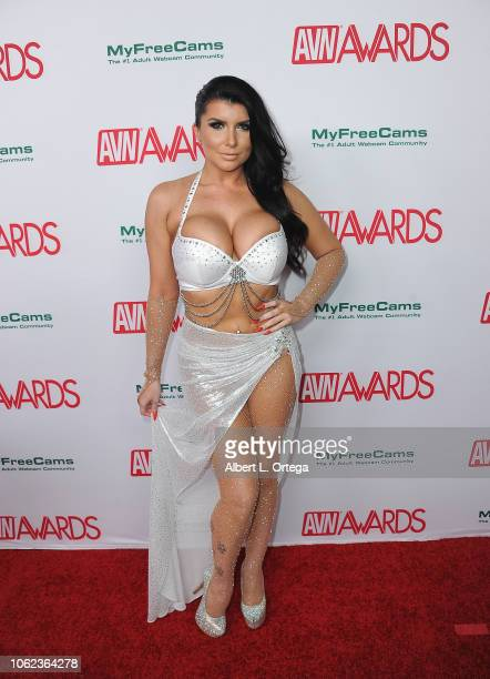 Romi Rain arrives for the 2019 AVN Awards Nominations Party held at Avalon on November 15 2018 in Hollywood California