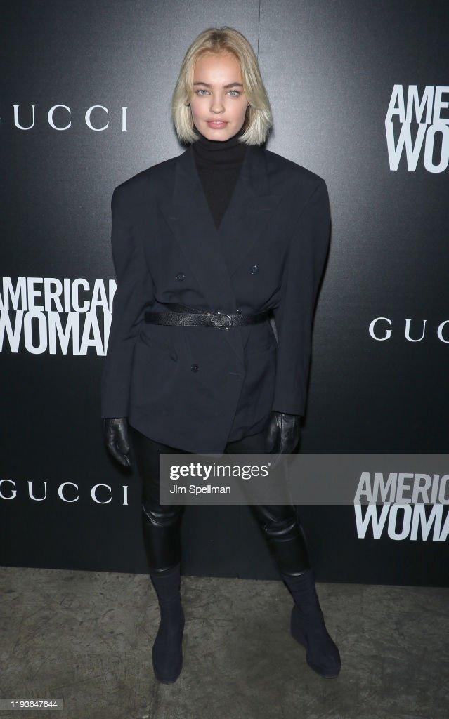 """American Woman"" New York Screening : News Photo"