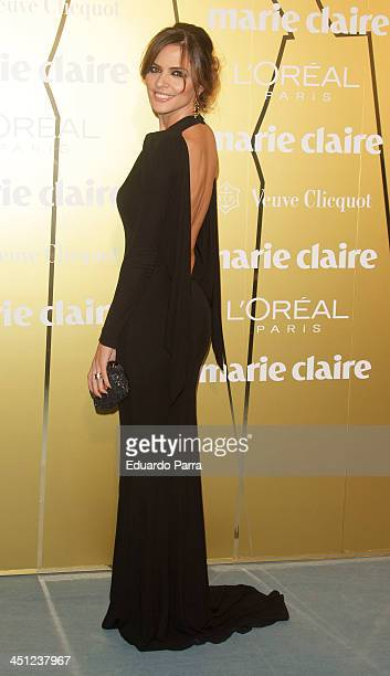 Romina Belluscio attends 'Marie Claire Prix de la moda' awards 2013 photocall at Residence of France on November 21 2013 in Madrid Spain