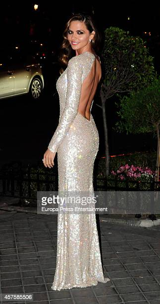 Romina Belluscio attends the 7th annual Cosmopolitan Fun Fearless Female Awards on October 20 2014 in Madrid Spain