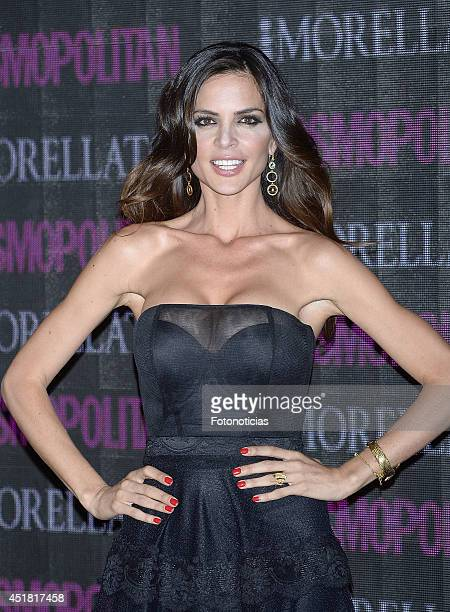 Romina Belluscio attends the Cosmopolitan Beauty Awards at Platea Restaurant on July 7 2014 in Madrid Spain