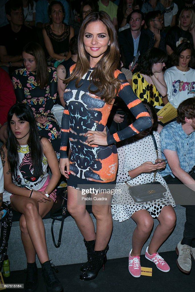 Celebrities Day 3 - Mercedes-Benz Fashion Week Madrid Spring/Summer 2016