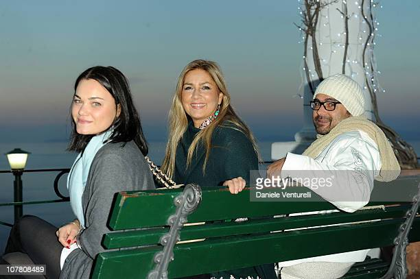 Romina Carrisi Romina Power and Yari Carrisi attend the third day of the 15th Annual Capri Hollywood International Film Festival on December 29 2010...