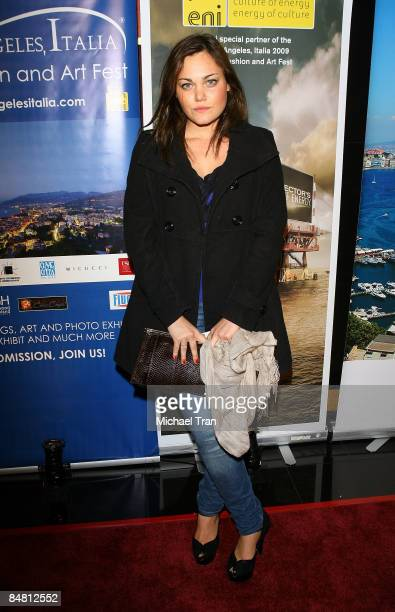 Romina Power arrives to the 4th Annual Los Angeles Italia Film Fashion and Art Festival opening night ceremony held at the Mann Chinese 6 Theaters on...