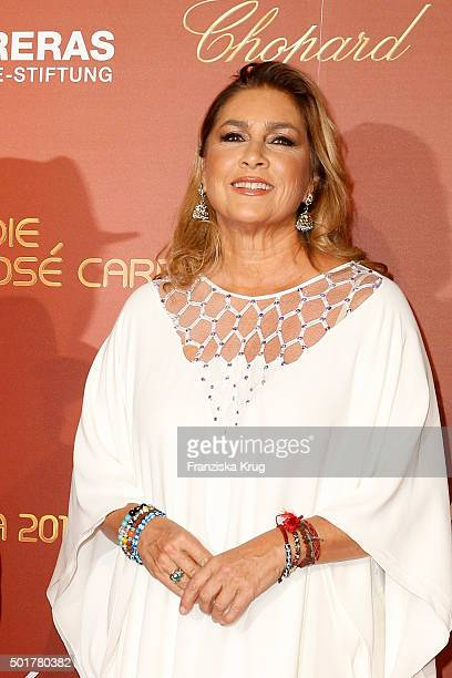 Romina Power attends the 21th Annual Jose Carreras Gala at Hotel Estrel on December 17 2015 in Berlin Germany