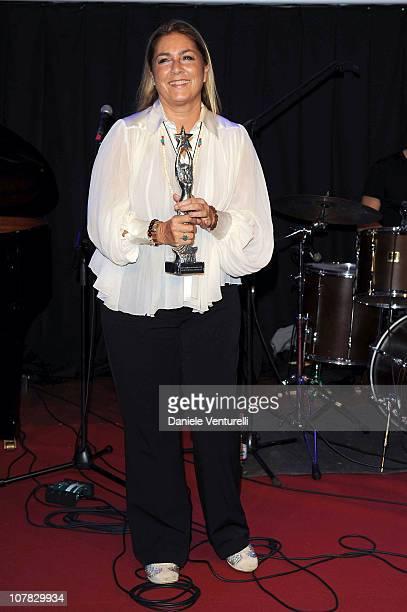Romina Power attends the fourth day of the 15th Annual Capri Hollywood International Film Festival on December 30 2010 in Capri Italy
