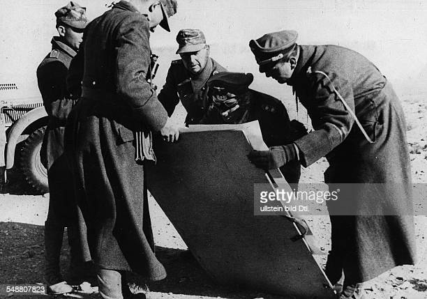 Rommel Erwin Officer General Field Marshal Germany *15111891 Commander of Afrika Korps 194143 ColonelGeneral Rommel in his second offense Short stop...