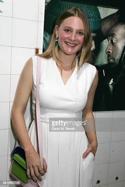 Romola Garai attends the press night after party for 'Measure For Measure' at The Young Vic on October 8 2015 in London England