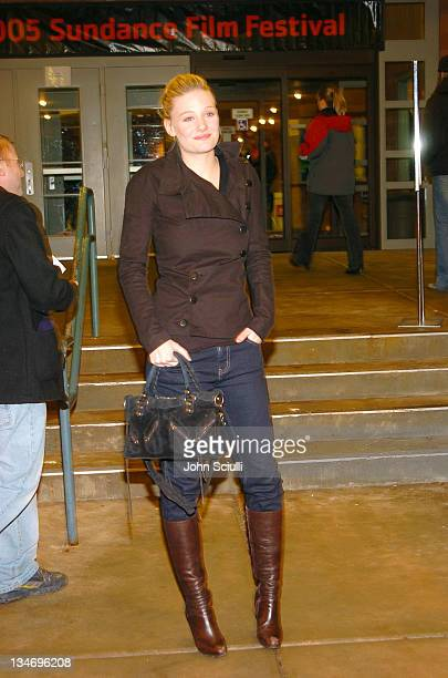 Romola Garai during 2005 Sundance Film Festival 'Rory O'Shea Was Here' Premiere at Eccles Theatre in Park City Utah United States