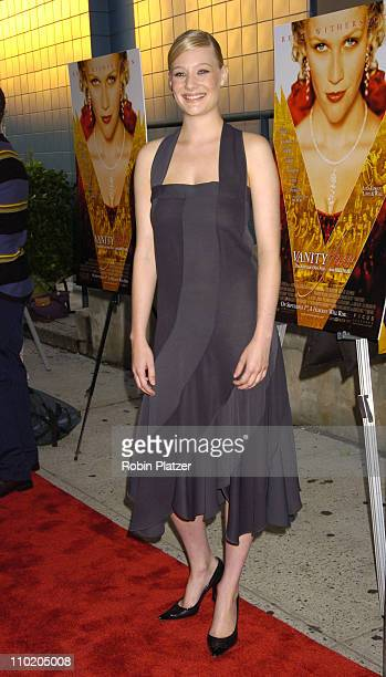 Romola Garai during 'Vanity Fair' New York Premiere Arrivals at Clearview Chelsea West Cinemas in New York City New York United States