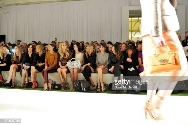 Romola Garai Joanne Froggatt Elizabeth McGovern Gillian Anderson Olivia Palermo Vanessa Kirby Lana Del Rey Kate Moss Alexa Chung Rebecca Hall and...