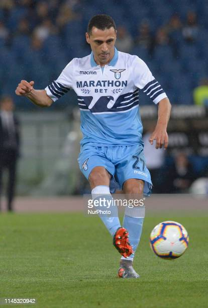 Romulo during the Italian Serie A football match between SS Lazio and Bologna at the Olympic Stadium in Rome on may 20 2019