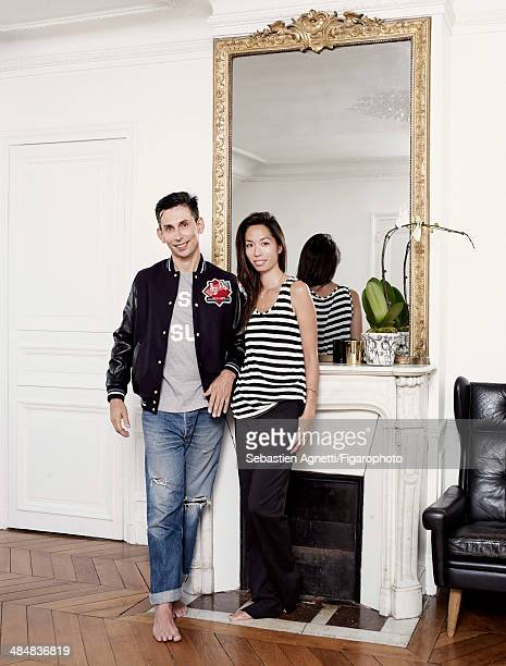 10754500 Romy and Gildas Loaec are photographed for Madame Figaro on September 3 2013 in Paris France PUBLISHED IMAGE CREDIT MUST READ Sebastien...