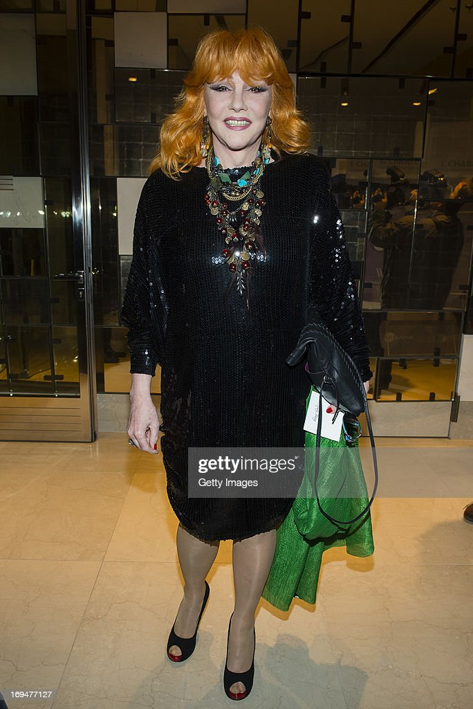 Romy Haag attends the 1st Charity Dinner by Federal Trust Fund Magnus Hirschfeld at Waldorf Astoria on May 25, 2013 in Berlin, Germany.