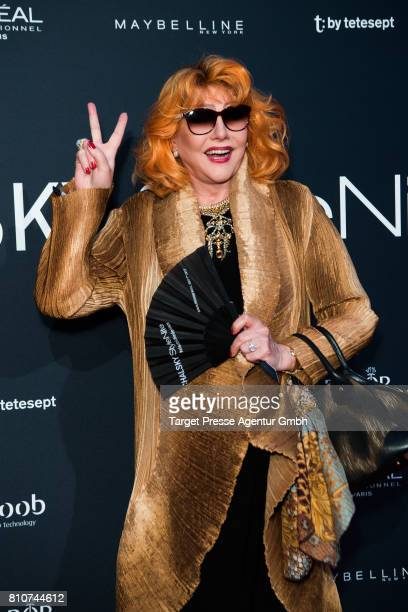 Romy Haag attends the MICHALSKY StyleNite during the MercedesBenz Fashion Week Berlin Spring/Summer 2018 at eWerk on July 7 2017 in Berlin Germany