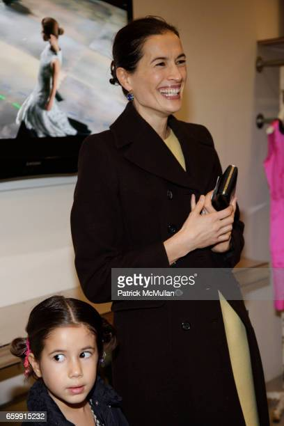 Romy Lauer and Annette Lauer attend ISAAC MIZRAHI and MURIEL BRANDOLINI Host a Cocktail Party to Celebrate the Limited Edition Holiday Collection at...