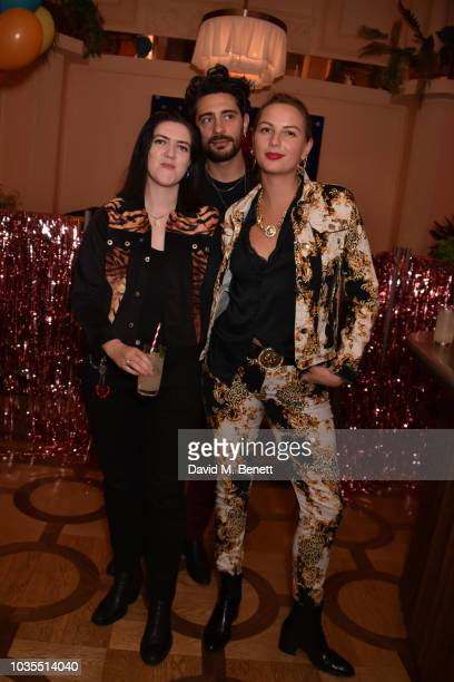 Romy Madley Croft and guests attend the Molly Goddard LFW After Party at Neptune on September 15 2018 in London England