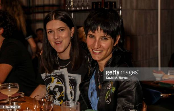 Romy Madley Croft and Vic Lentaigne attend Peggy Gou and Browns private dinner at Double Standard The Standard to celebrate Kirin FW19 on September...