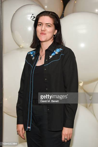 Romy Madley Croft attends the Izzue x Ponystep London Fashion Week party at Mare Street Market on September 16 2018 in London England