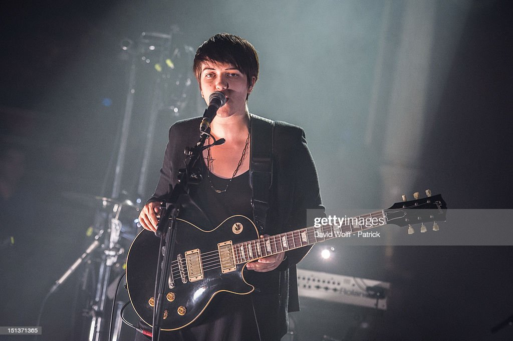 Romy Madley Croft from The XX Performs at Le Cirque d'Hiver on September 6, 2012 in Paris, France.