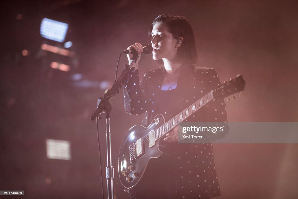 Romy Madley Croft of The XX performs in concert during day 3 of Primavera Sound 2017 on June 2, 2017 in Barcelona, Spain.