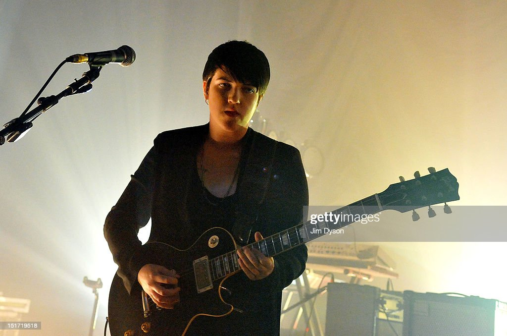 Romy Madley Croft of The XX performs live on stage at Shepherds Bush Empire to support the release of their second album, Coexist, on September 10, 2012 in London, United Kingdom.