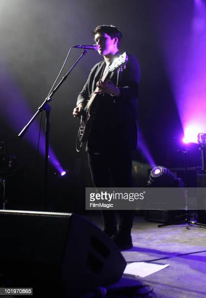 Romy Madley Croft of The xx performs onstage during Bonnaroo 2010 at That Tent on June 10, 2010 in Manchester, Tennessee.