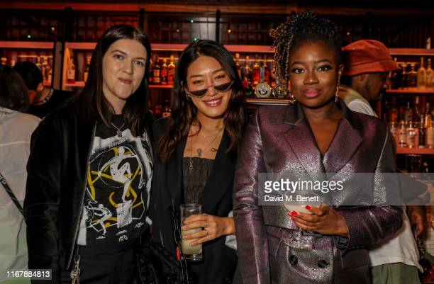 Romy Madley Croft Peggy Gou and Clara Amfo attend Peggy Gou and Browns private dinner at Double Standard The Standard to celebrate Kirin FW19 on...