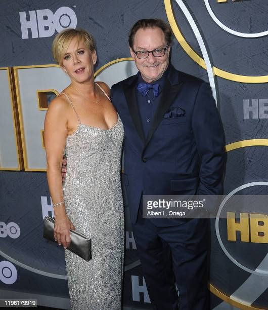 Romy Rosemont and Stephen Root arrive for the HBO's Post Emmy Awards Reception held at The Plaza at the Pacific Design Center on September 22, 2019...