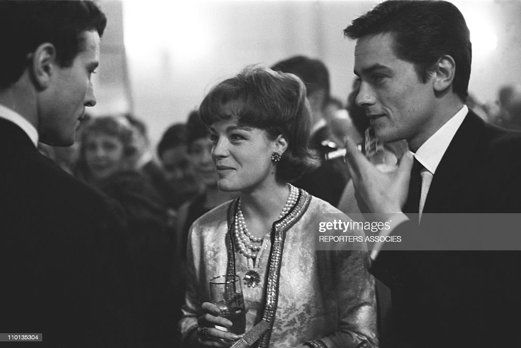 Premiere of the Movie 'Love On A Pillow' in Paris, France on November 1961. : News Photo