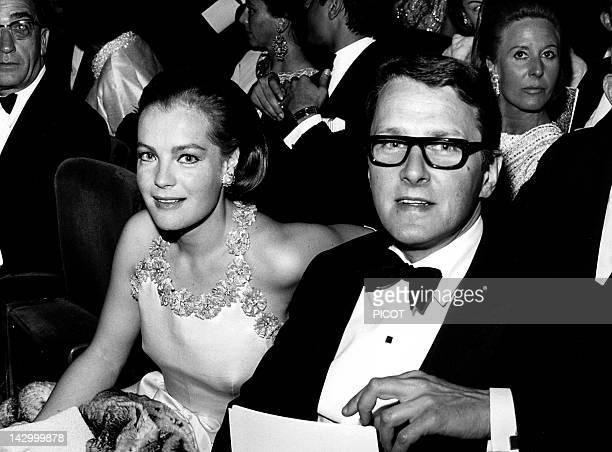 Romy Schneider and Harry Meyen 1967 in France