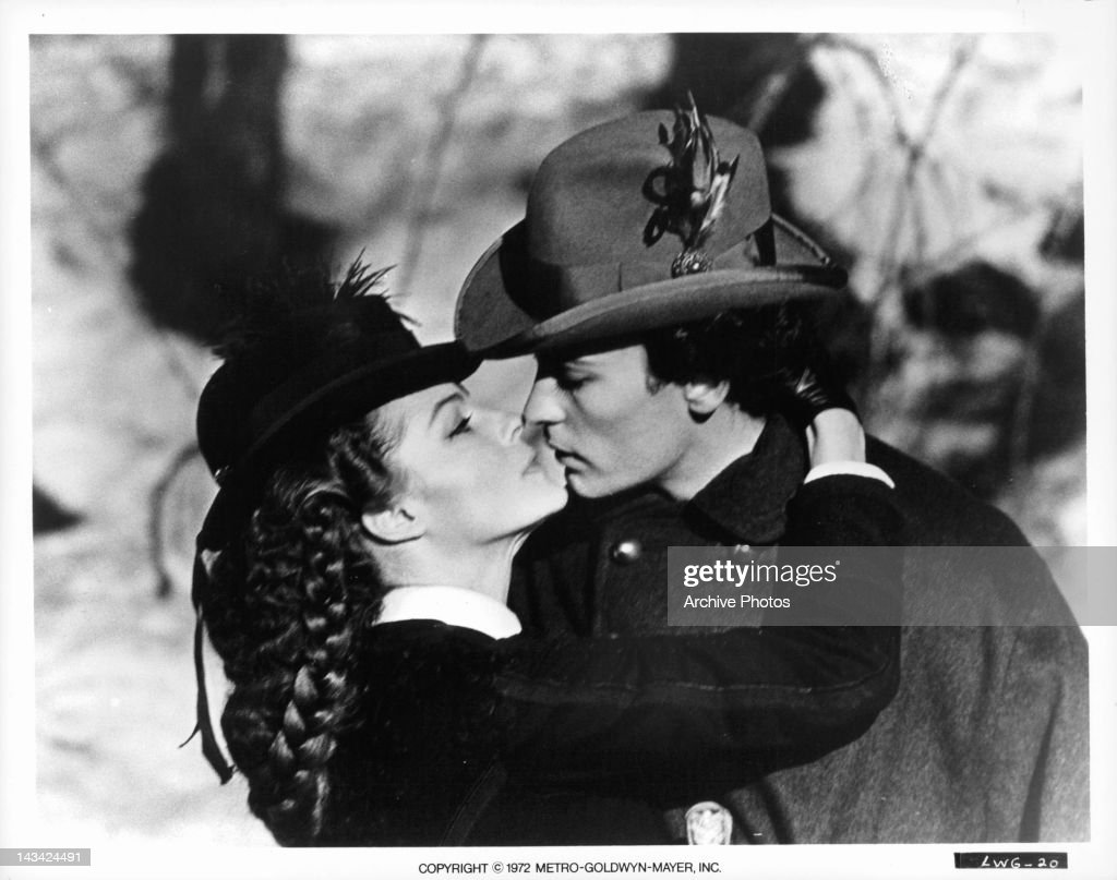 Romy Schneider And Helmut Berger In 'Ludwig' : News Photo